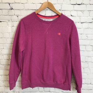 Champion Eco Purple/Pink Sweater Size Large